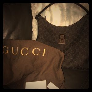 Gucci Chocolate Hobo bag